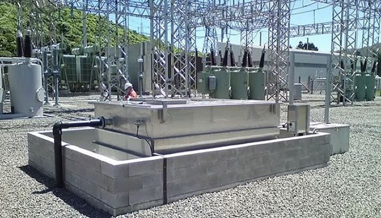 Sub Station - Oil Water Separator